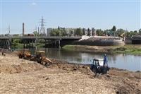 Работы на набережной Упы, Фото: 3