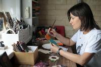 Тульская художница создает уникальные куклы из дерева, Фото: 3