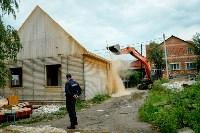 В Плеханово убирают незаконные строения, Фото: 63