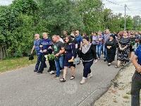 Жуткое ДТП в Суворове: проститься с погибшим полицейским пришли сотни человек, Фото: 4
