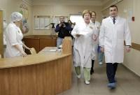 Врио губернатора Тульской области Алексей Дюмин в детской областной больнице, Фото: 1