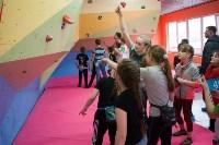 Соревнования на скалодроме среди детей, Фото: 41