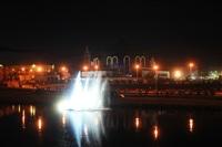 Шоу фонтанов на Упе. 9 мая 2014 года., Фото: 44