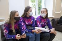"Волейболистки ""Тулицы"" сделали прививки от гриппа, Фото: 9"