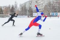 В Туле прошли массовые конькобежные соревнования «Лед надежды нашей — 2020», Фото: 33