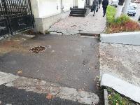 Немобильно! «Городские проекты» осмотрели тротуары на ул. Октябрьской, Фото: 4