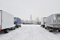 Автофлешмоб на площади Ленина в честь Дня памяти жертв ДТП, Фото: 7