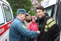 Тульские спасатели провели урок для юнармейцев, Фото: 2