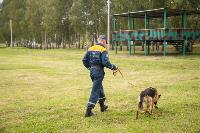 Испытания кинологов в Тульском спасательном центре, Фото: 27