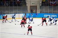 Женский хоккейный матч Канада-Финляндия. Зимняя Олимпиада в Сочи, Фото: 21