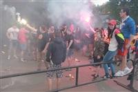 """Файер-шоу от болельщиков """"Арсенала"""". 16 мая 2014 года, Центральный парк, Фото: 11"""