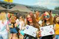 В Туле прошел фестиваль красок и летнего настроения, Фото: 70