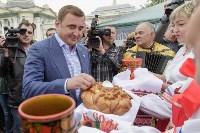 Алексей Дюмин посетил Епифанскую ярмарку, Фото: 4