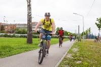 В Туле прошел большой велопарад, Фото: 115