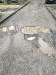 Ямы на улице Седова: «Вот такой ширины! Вот такой глубины!», Фото: 5