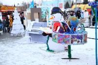 Арт-объекты на площади Ленина, 5.01.2015, Фото: 40