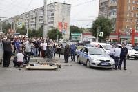 КамАЗ сбил велосипедистку на пересечении Ложевой и Кирова, Фото: 2