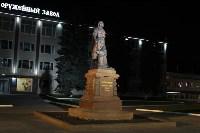 У памятника Петру Первому и скульптуры «Исторический центр города Тулы» появилась подсветка, Фото: 2