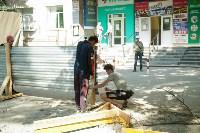 В Туле началось благоустройство скверов и дворов, Фото: 5