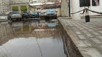 В Туле у дома на ул. Литейная, 3 перекрыта дождевая канализация, Фото: 5