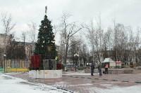 Уборка новогодних площадок в Туле. 26 декабря 2015 года, Фото: 1
