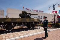 Открытие монумента и бронепоезда на Московском вокзале. 8 мая 2015 года, Фото: 94