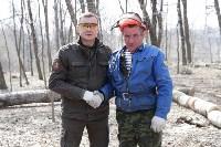 Алексей Дюмин предложил партии власти работать на субботнике дольше всех, Фото: 1
