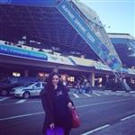 Тулячка Анна Бикбова поехала в Сочи болеть за Россию, Фото: 4