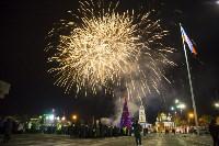 Фейерверк в честь 75-летия обороны Тулы, Фото: 16