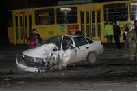 На ул. Металлургов в Туле лоб в лоб столкнулись две Daewoo, Фото: 9