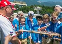 Чемпион мира по авиамодельному спорту из Алексина выступил в «Артеке», Фото: 9