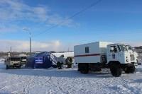 В Тульской области развернуты два мобильных пункта обогрева, Фото: 7