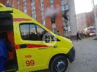 Пожар в общежитии на ул. Фучика, Фото: 13