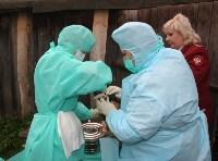 Сотрудники МЧС и Роспотребнадзора учились ликвидировать очаг сибирской язвы, Фото: 1