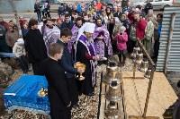Митрополит Алексий освятил колокола храма в поселке Рождественский, Фото: 6