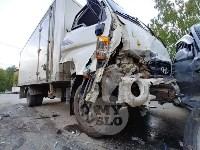 Двойная авария в Пролетарском районе Тулы, Фото: 6