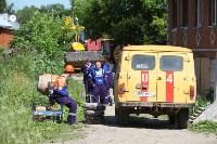 На Косой Горе ликвидируют незаконные врезки в газопровод, Фото: 4