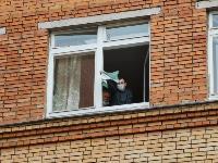 Учения МЧС: В Тульской областной больнице из-за пожара эвакуировали больных и персонал, Фото: 24