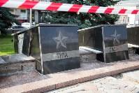 Реставрация обелисков на площади Победы, Фото: 1