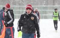 «Арсенал» готовится на снежном поле к игре против «Тосно», Фото: 31
