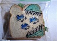 """Рисунки на сэндвичах"""""""", Фото: 9"""