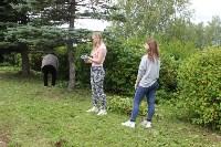 «Экопатруль» в Одоеве навел порядок у памятника конникам генерала Белова, Фото: 4