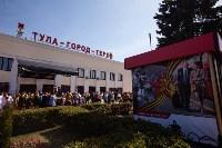 Открытие монумента и бронепоезда на Московском вокзале. 8 мая 2015 года, Фото: 95