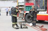 Тульские пожарные обучили таможню  бороться с огнём, Фото: 7