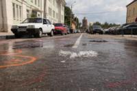 Возле роддома в центре Тулы забил фонтан, Фото: 11