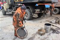 Прорыв водовода на пр. Ленина, Фото: 12