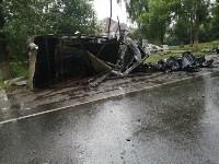 В жутком ДТП под Рязанью погиб житель Тульской области, Фото: 6