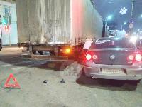 В Пролетарском округе Тулы пробка из-за ДТП с грузовиком и легковушкой, Фото: 4