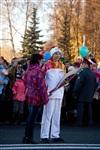 Второй этап эстафеты олимпийского огня: Зареченский район, Фото: 52