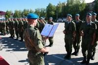 Командиру 106-й гвардейской воздушно-десантной дивизии вручено Георгиевское знамя, Фото: 7